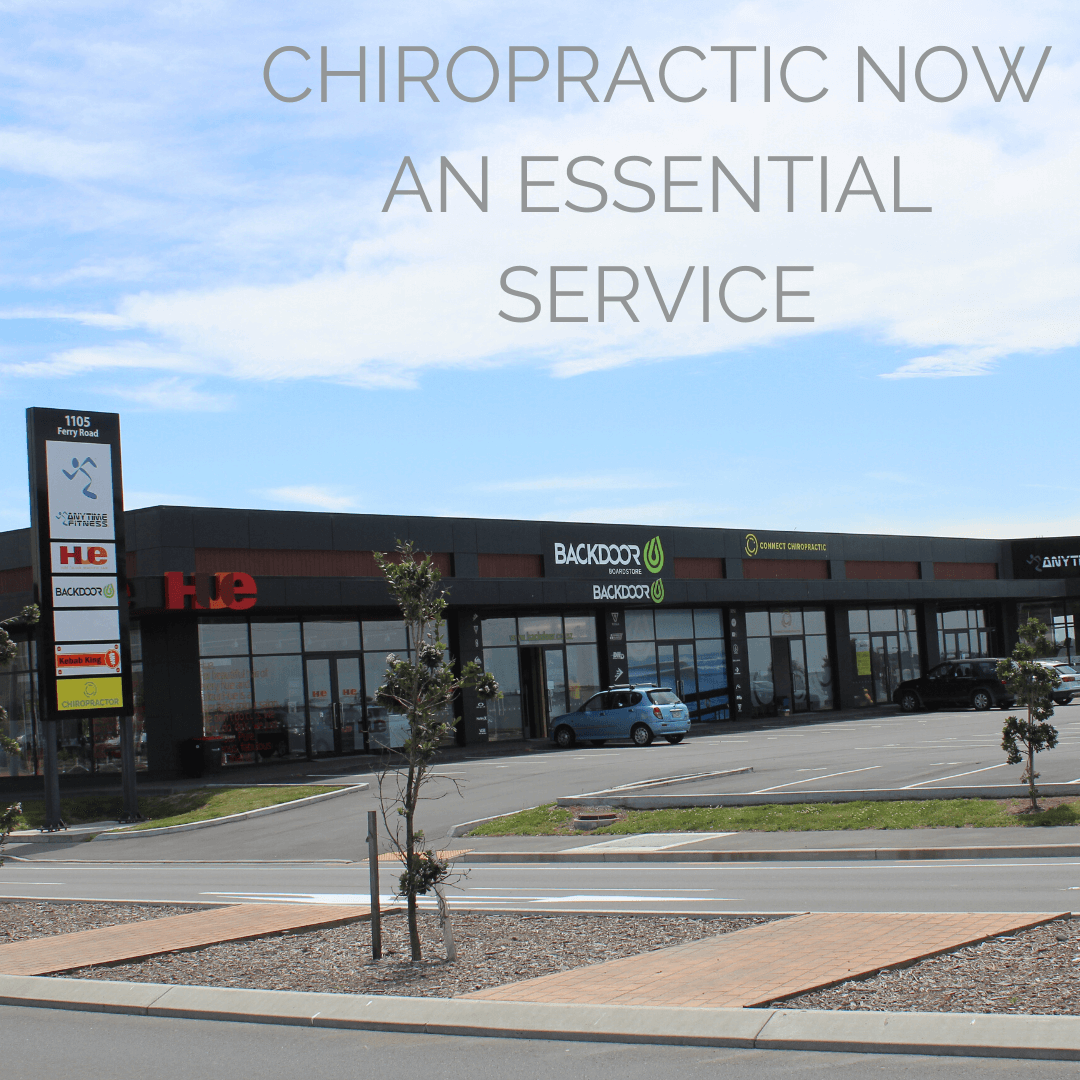 Chiropractic is an Essential Service